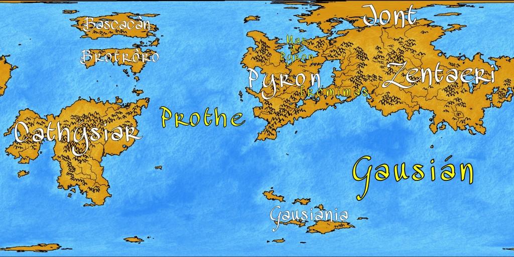 """Mapa con los nombres """"planos"""", sin girar ni poner en trayectos."""
