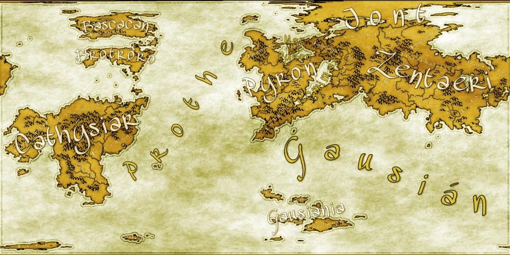 Mapa final, con todos los nombres y efectos