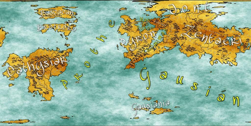 "Mapa ""manchado"""